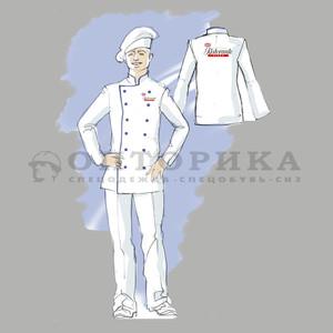 Эскиз одежды для работника ресторана