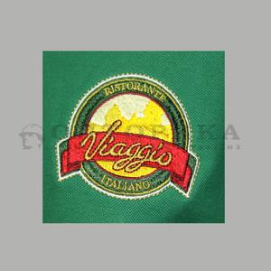 """Логотип вышивка """"Виаджо"""""""