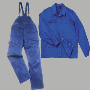 Костюм для работников производства куртка/полукомбинезон